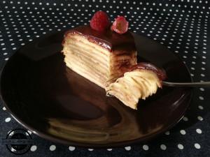 Torta od palacinki sa kremom od vanilije
